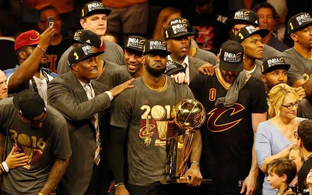 LeBron James holte 2016 den Titel nach Cleveland