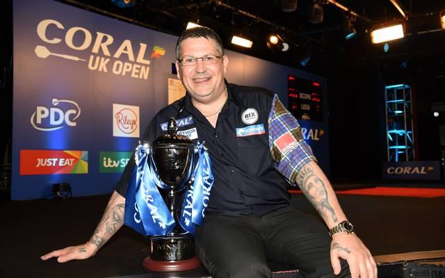 Gary Anderson gewann die UK Open