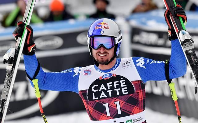 Dominik Paris holte seinen zweiten Sieg in Bormio nach 2012