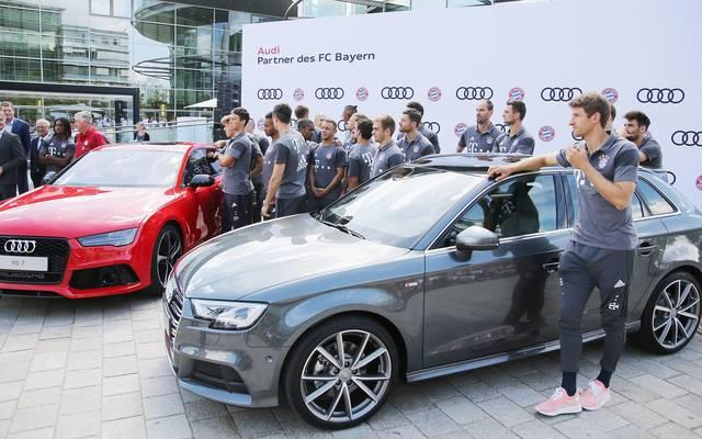 Audi kaufte 2011 Anteile am FC Bayern - übernimmt diese nun BMW?
