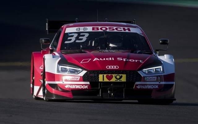 Rene Rast startet zum ersten Mal 2018 von der Pole-Position