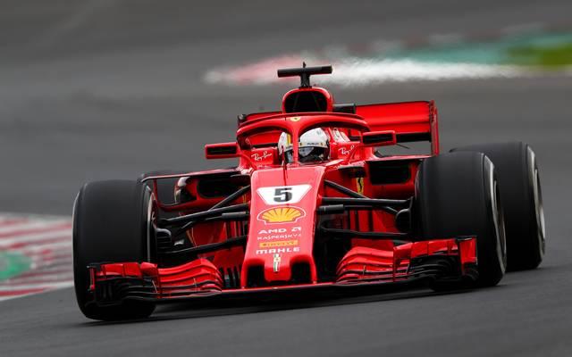 Ferrari-Pilot Sebastian Vettel startet am kommenden Sonntag in die neue Saison