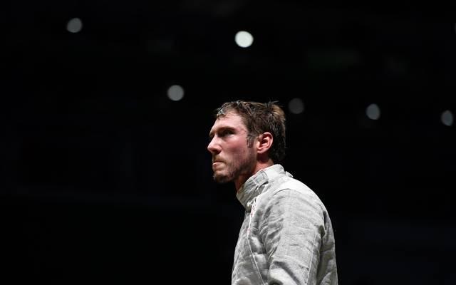 Max Hartung schied bei der Fecht-WM im Achtelfinale aus