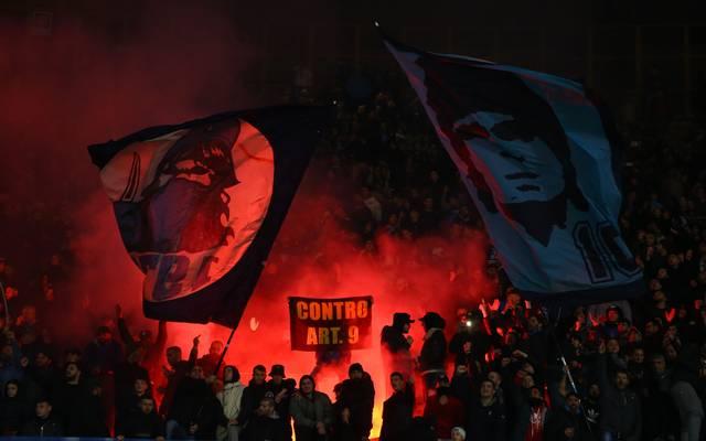 Rund um das Spiel zwischen Inter und Neapel kam es zu Krawallen