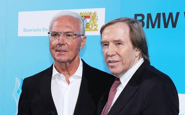 Franz Beckenbauer und Uwe Seeler bei Eröffnung von Hall of Fame dabei