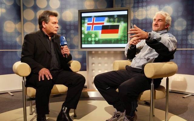"""Rudi Völler sorgte für die legendäre """"Weißbier-Wutrede"""""""