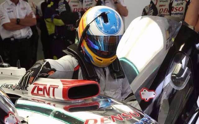 Fernando Alonso übernimmt im #8 Toyota den Platz von Anthony Davidson
