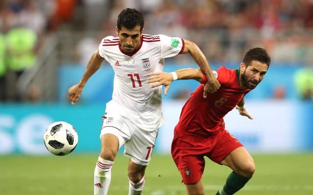 Joao Moutinho (r.) machte bisher 113 Länderspiele für Portuga