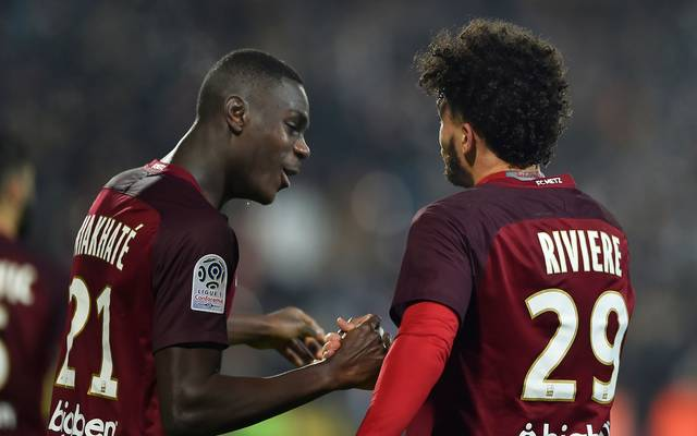 Moussa Niakhate (l.) war Stammspieler beim FC Metz