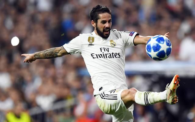Real Madrid: Isco lässt Fans über sein Gewicht abstimmen , Real Madrids Isco muss sich derzeit mit der Reservistenrolle zufrieden geben
