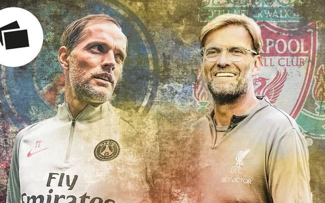 Thomas Tuchel, Jürgen Klopp, PSG, FC Liverpool, Champions League