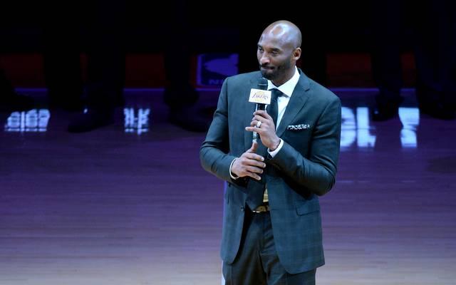 Kobe Bryant beendete im Frühjahr 2016 seine Karriere