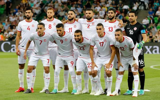 Mannschaftsfoto von Tunesien