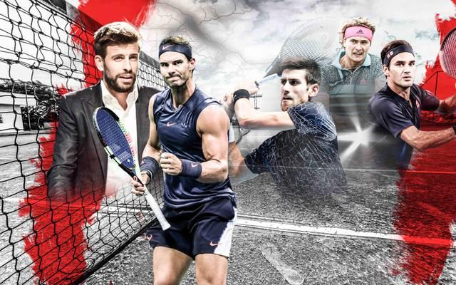 Die Superstars im Tennis stehen in einem Machtkampf auf verschiedenen Seiten