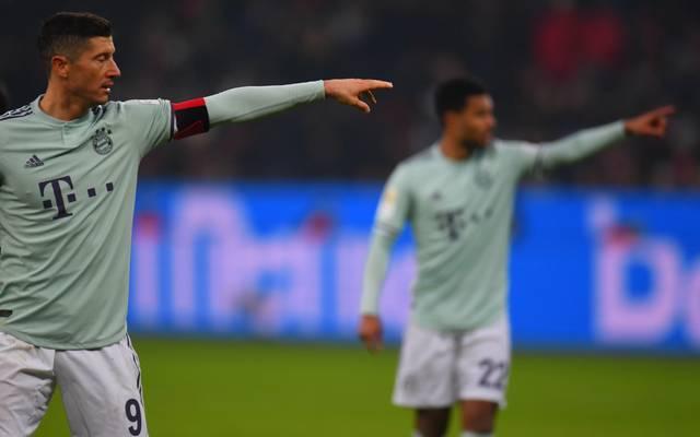 Bayern-Stürmer Robert Lewandowski will im DFB-Pokal-Viertelfinale gegen Hertha BSC treffen