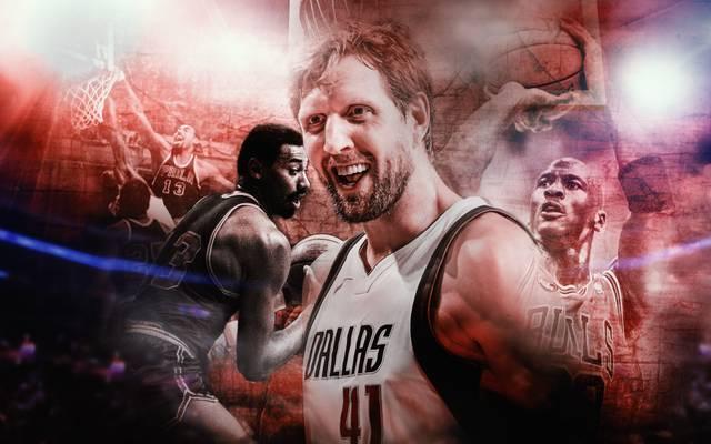 Dirk Nowitzki ist bei den Dallas Mavericks in seiner 21. Saison in der NBA