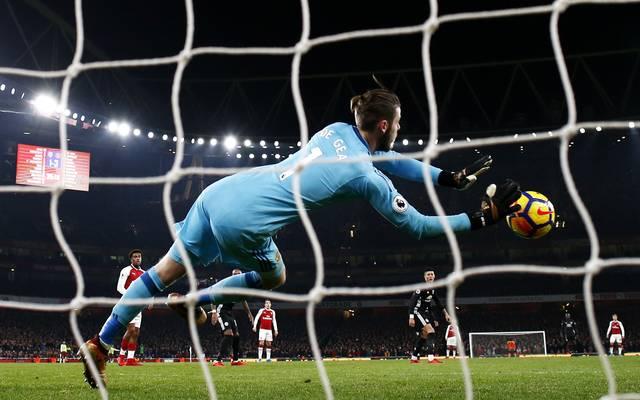 David de Gea vereitelte gegen Arsenal diverse Großchancen