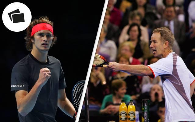 Alexander Zverev hat in seiner Karriere bereits mehr Preisgeld verdient als John McEnroe
