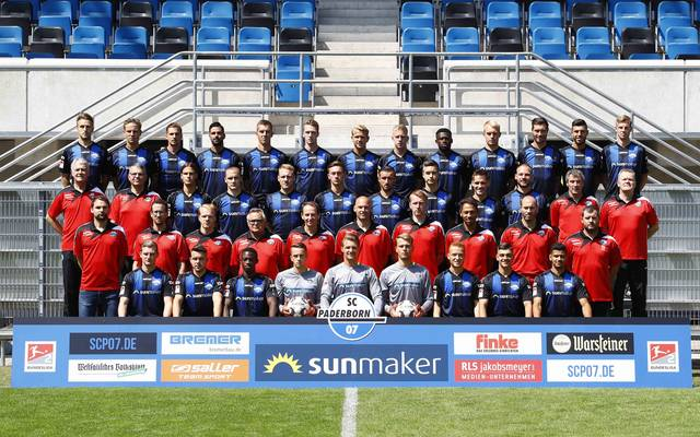Mannschaftsfoto von SC Paderborn