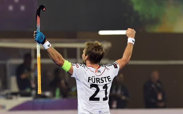 Moritz Fürste erzielte die Führung für Deutschland