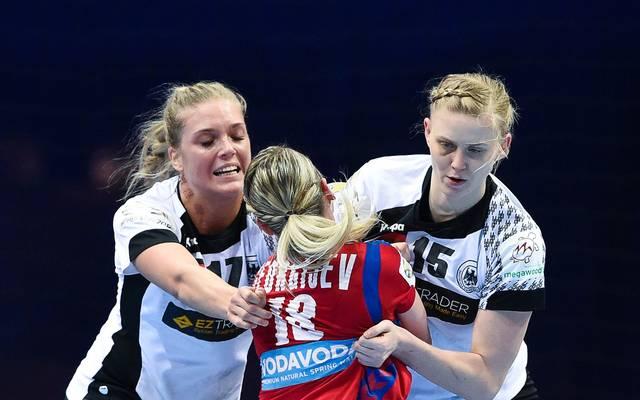 Anne Hubinger (.) und Kim Naidzinavicius geben bei den anstehenden Länderspielen ihr Comeback