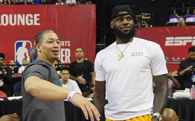 LeBron James spricht über Fehler bei Sohn LeBron James junior