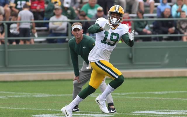 Equanimeous St. Brown hat den Kader-Cut der Packers überstanden