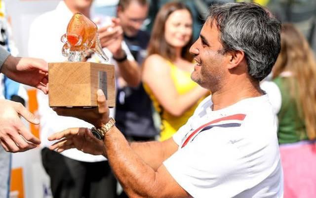 Juan Pablo Montoya übernahm in Spielberg die Pokalübergabe