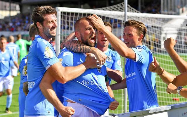 Der TSV 1860 München bleibt in der Regionalliga Bayern auf Meisterkurs