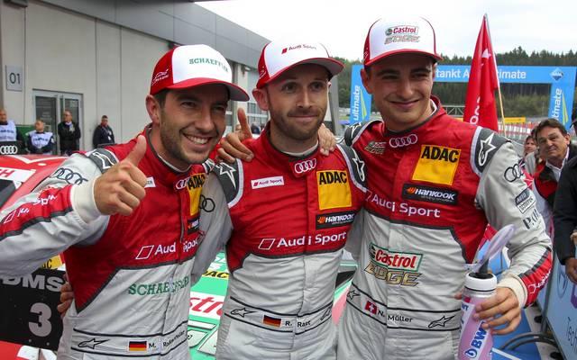 DTM: Audi-Pilot Rene Rast gewinnt - Paul di Resta löst Gary Paffett ab