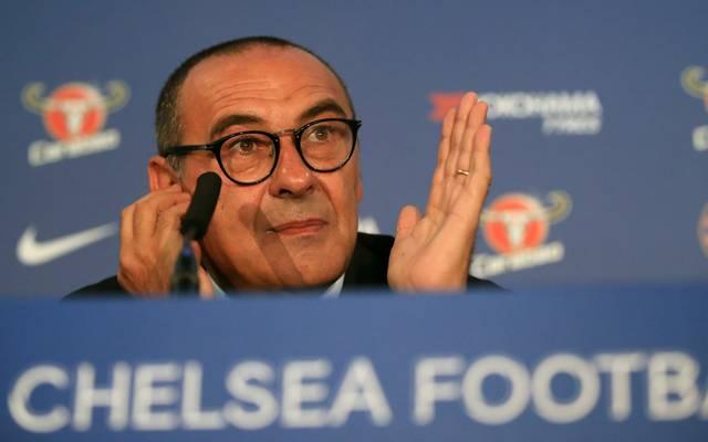 Maurizio Sarri kam vom SSC Neapel zum FC Chelsea