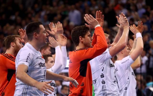 Der THW Kiel bezwang im letzten Heimspiel der HBL-Saison den TVB Stuttgart