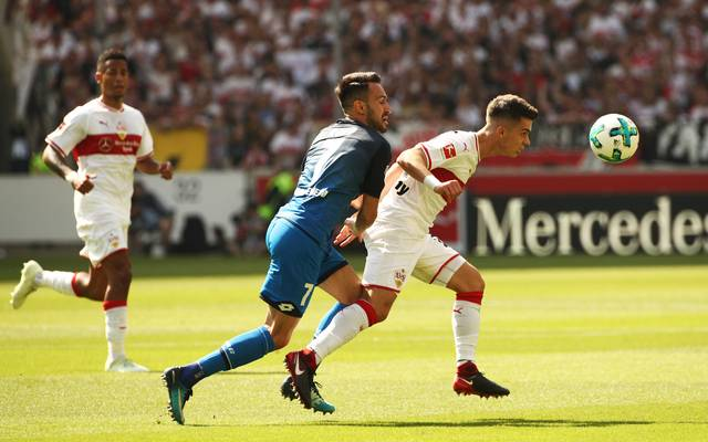 TSG Hoffenheim - VfB Stuttgart: Bundesliga LIVE im TV, Stream, Ticker, Am Samstag Abend trifft Hoffenheim im Topspiel auf den VfB Stuttgart