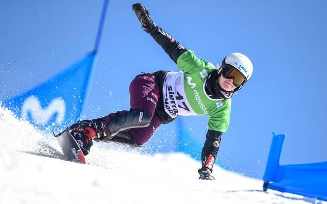 Selina Jörg peilt bei der Snowboard-WM eine Medaille an