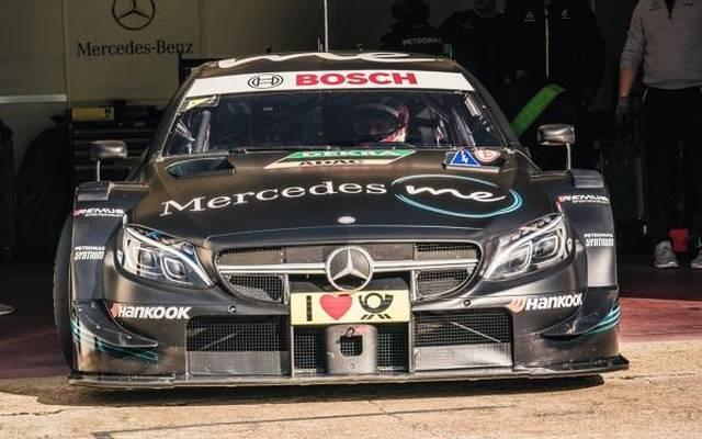 Bei Mercedes ist man vor der letzten Saison in der DTM zuversichtlich