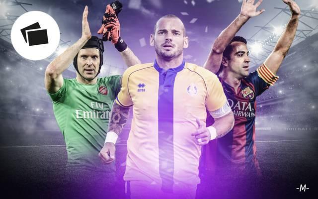 Sneijder, Xavi, Cech und Co.: Diese Legenden beenden ihre Karriere