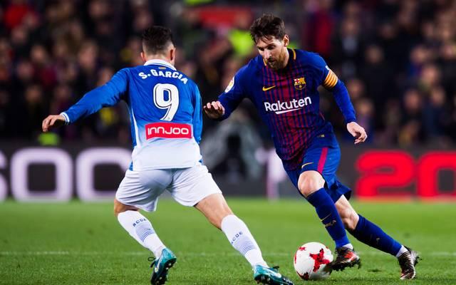Lionel Messi schaltete mit dem FC Barcelona im Pokalviertelfinale Stadtrivale Espanyol aus