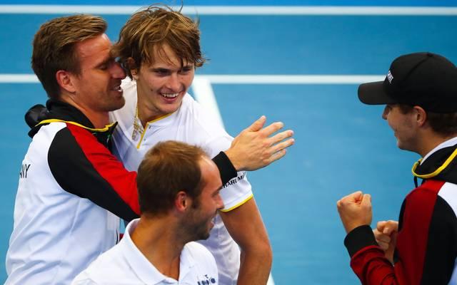 Das deutsche Davis-Cup-Team trifft im Qualifikationsspiel auf Ungarn
