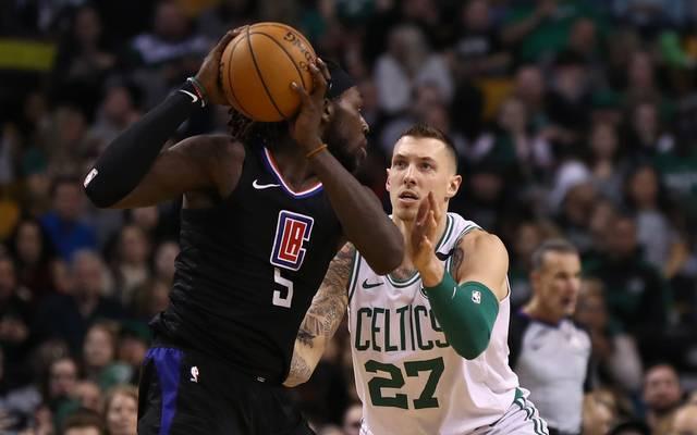 Daniel Theis (r.) und die Celtics verloren gegen die Clippers