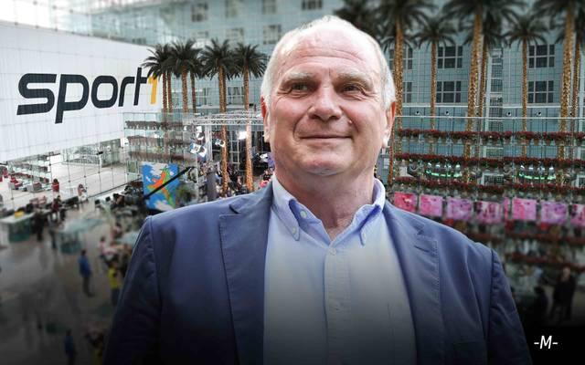 Bayern-Präsident Uli Hoeneß wird am 24. Februar im CHECK24 Doppelpass zu Gast sein