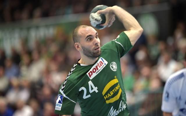 Aleksandar Svitlica spielt seit 2011 für Minden