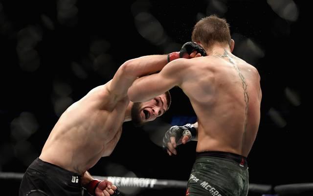 Khabib Nurmagomedov sorgte nach dem Fight gegen Conor McGregor für einen Skandal