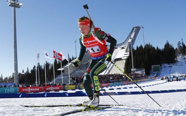 Laura Dahlmeier gibt am Freitag ihr Comeback im Biathlon