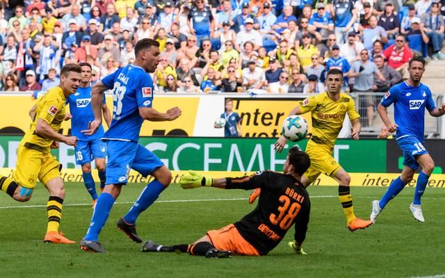 Hoffenheim und Dortmund könnten sich im nächsten Jahr auch in der Champions League sehen