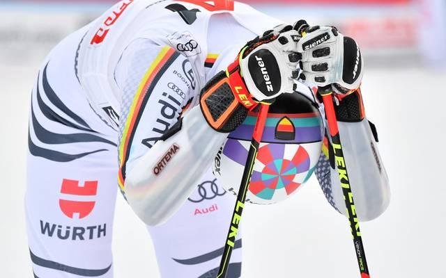 Stefan Luitz stürzte im Riesenslalom bei der Ski-WM