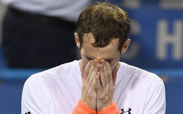 Andy Murray wurde nach seinem Sieg gegen Marius Copil von seinen Emotionen übermannt
