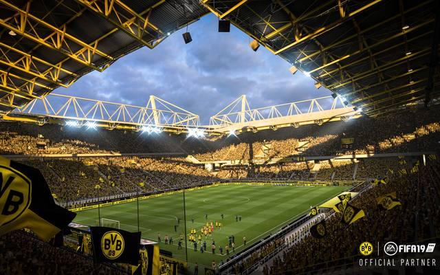 Der Signal Iduna Park ist in FIFA 19 wieder spielbar
