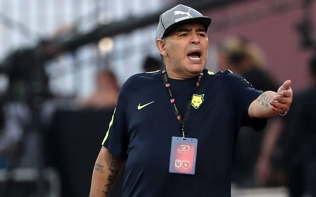 Diego Maradona war zuletzt in den Vereinigten Arabischen Emiraten als Trainer tätig