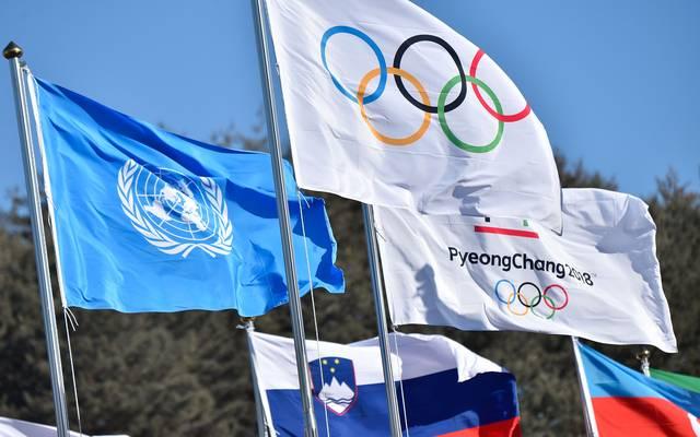 Die Olympischen Spiele finden vom 9. bis zum 25. Februar in Pyeongchang statt