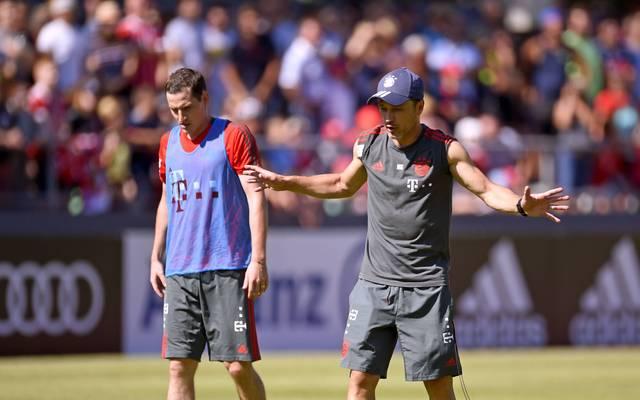 Laut Niko Kovac kann Sebastian Rudy den FC Bayern verlassen